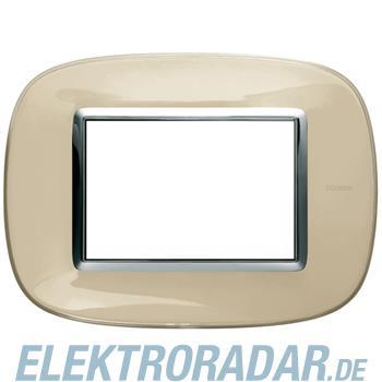 Legrand HB4803DA Rahmen elliptisch 3 Module Kompaktinstallation Ivo