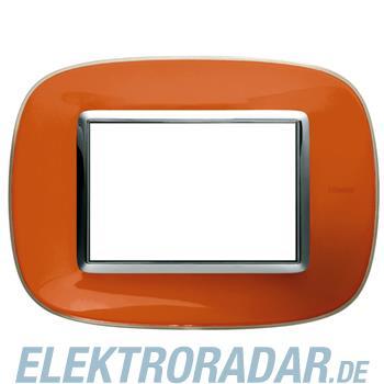 Legrand HB4803DR Rahmen elliptisch 3 Module Kompaktinstallation Ora