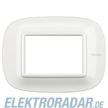 Legrand HB4803HD Rahmen elliptisch 3 Module Kompaktinstallation Whi