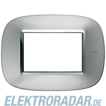 Legrand HB4803XC Rahmen elliptisch 3 Module Kompaktinstallation Alu