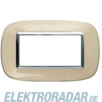 Legrand HB4804DA Rahmen elliptisch 4 Module Kompaktinstallation Ivo