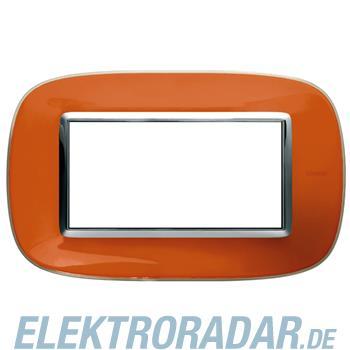 Legrand HB4804DR Rahmen elliptisch 4 Module Kompaktinstallation Ora