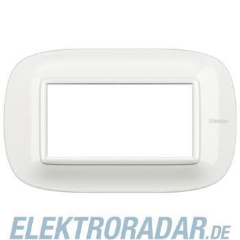 Legrand HB4804HD Rahmen elliptisch 4 Module Kompaktinstallation Whi