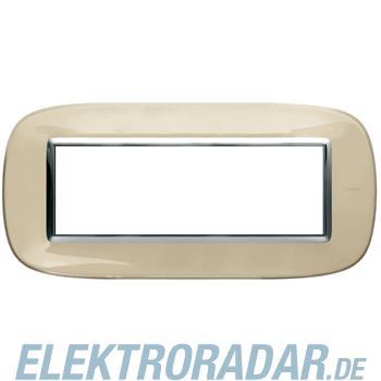 Legrand HB4806DA Rahmen elliptisch 6 Module Kompaktinstallation Ivo