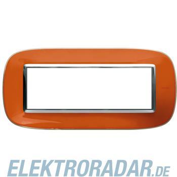 Legrand HB4806DR Rahmen elliptisch 6 Module Kompaktinstallation Ora