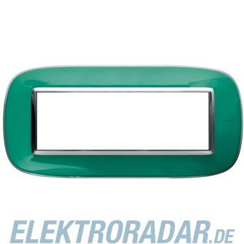 Legrand HB4806DV Rahmen elliptisch 6 Module Kompaktinstallation Grü