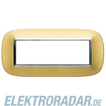 Legrand HB4806OS Rahmen elliptisch 6 Module Kompaktinstallation Gol