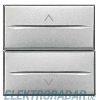 Legrand HC4027/2 Rollladenschalter 1-polig 16A 250V AC 2-modulig Al