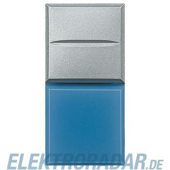 "Legrand HC4038LA/12 ""Axialtaster mit Beleuchtung blau Symbol""""LAMPE"""""