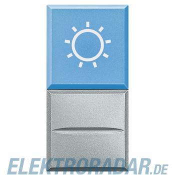 "Legrand HC4038LA/230 ""Axialtaster mit Beleuchtung blau Symbol""""LAMPE"""""