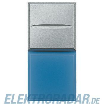 "Legrand HC4038LA/24 ""Axialtaster mit Beleuchtung blau Symbol""""LAMPE"""""