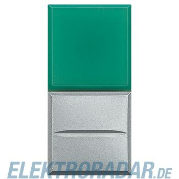 Legrand HC4038V/24 Axialtaster mit Beleuchtung 1-polig Schließer grün