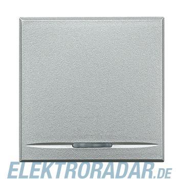 Legrand HC4051/2 Ausschalter 1-polig 16A 250V AC 2-modulig Aluminiu
