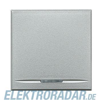 Legrand HC4055/2 Taster 1-polig Schließer 10A 250V AC 2-modulig Alu