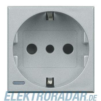 Legrand HC4140 Steckdose italienisch 2-polig+E 10A 250VAC, Schrau