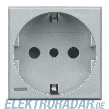 Legrand HC4140W Steckdose italienisch 2-polig+E 10A 250VAC, Steckk