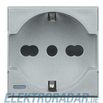 Legrand HC4140/16W Steckdose italienisch 2-polig+E 10/16A 250V AC, St