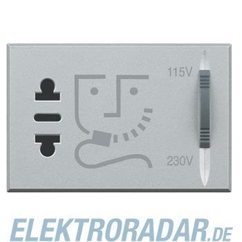 Legrand HC4177 Rasiersteckdose mit Trenntrafo, Stromversorgung 23