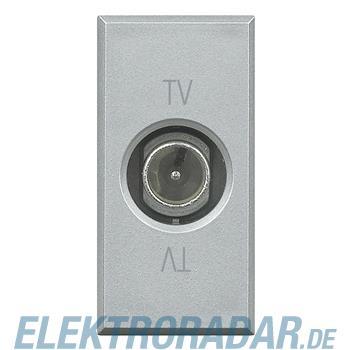 Legrand HC4202PT TV-End-/Einzel-/Durchgangsdose, 9,5 mm Durchmesser