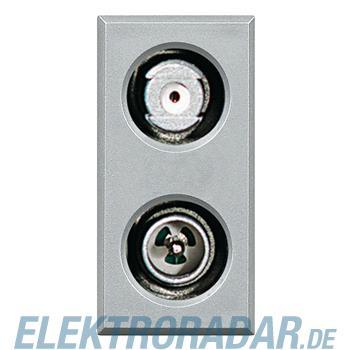 Legrand HC4214D TV-SAT-Kombisteckdose, gleichspannungsdurchlässig,