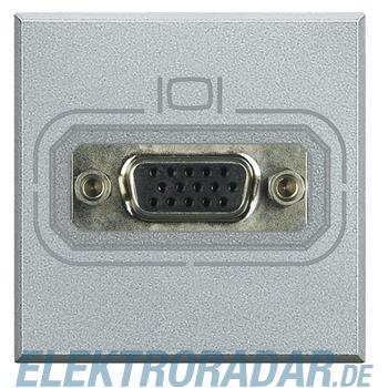 Legrand HC4282 Video-Anschlussdose HD15 Aluminium