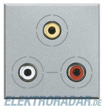 Legrand HC4283 Audio-/Video-Anschlussdose 3x RCA (Cinch)