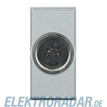 Legrand HC4292 Steckdose 5-pol DIN 180° Lötanschluss 1-modulig Al