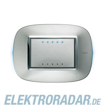 Legrand HC4653/3 Soft Touch Sensor 3-modulig Aluminium