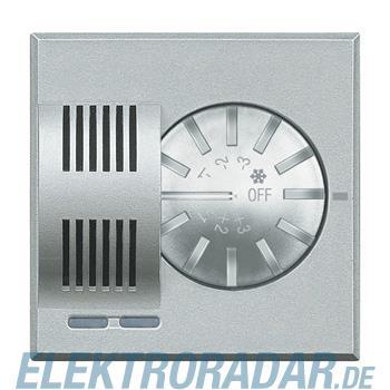 Legrand HC4692 Raumthermostat mit Stellrad Aluminium