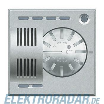 Legrand HC4692FAN Raumthermostat für Fan-Coils mit Stellrad Aluminiu