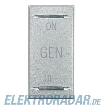 Legrand HC4911AF Wippe für Tastsensoren ON-OFF-GEN Aluminium