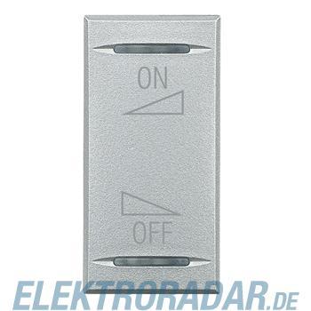 Legrand HC4911AI Wippe für Tastsensoren ON-OFF Regelung Aluminium