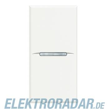 Legrand HD4001W Ausschalter 1-polig 16A 250V AC (SL) Axial 1-modul