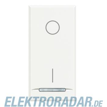 Legrand HD4002 Ausschalter 2-polig 16A 250V AC 1-modulig White