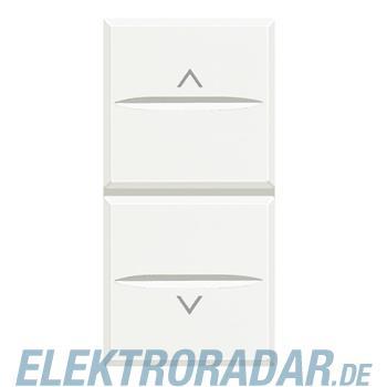 Legrand HD4027M2 Rollladenschalter 1-polig 16A 250V AC 2-modulig Wh