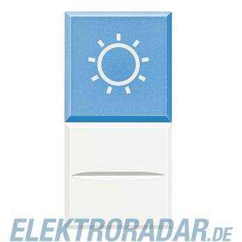 "Legrand HD4038LA12 ""Axialtaster mit Beleuchtung blau Symbol""""LAMPE"""""