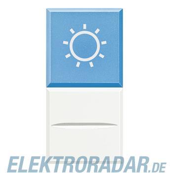 "Legrand HD4038LA230 ""Axialtaster mit Beleuchtung blau Symbol""""LAMPE"""""