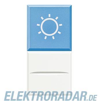 "Legrand HD4038LA24 ""Axialtaster mit Beleuchtung blau Symbol""""LAMPE"""""