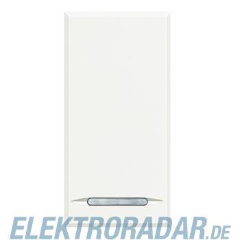 Legrand HD4055 Taster 1-polig Schließer 10A 250V AC 1-modulig Whi