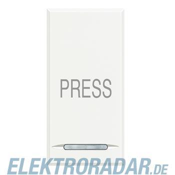 """Legrand HD4055P """"Taster 1-polig Schließer 10A 250V AC Aufdruck """"""""P"""