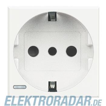 Legrand HD4140W Steckdose italienisch 2-polig+E 10A 250VAC, Steckk