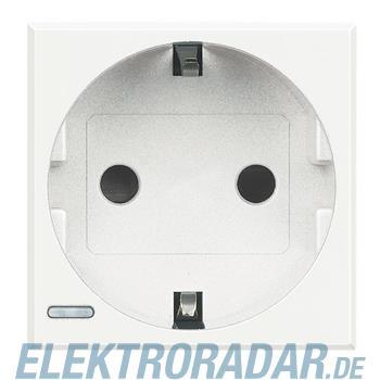 Legrand HD4141W Steckdose mit Steckklemmen (SL), Kinderschutz, 16A