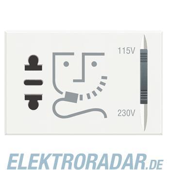 Legrand HD4177 Rasiersteckdose mit Trenntrafo, Stromversorgung 23