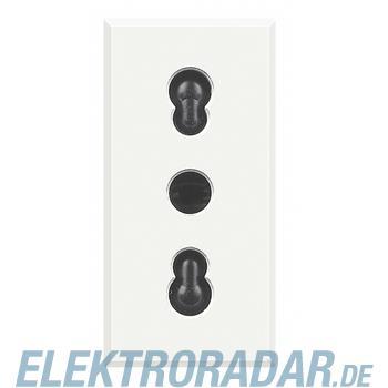 Legrand HD4180W Steckdose 2-polig+E 10/16A 250V AC, Kinderschutz,
