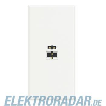 Legrand HD4293 Lautsprecherbuchse 2-pol DIN, Lötanschluss 1-modul