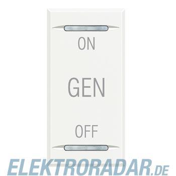 Legrand HD4911AF Wippe für Tastsensoren ON-OFF-GEN White