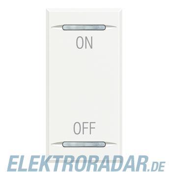 "Legrand HD4911AG ""Symbolwippe für Tastsensor mit 2 Funktionen """"ON-"