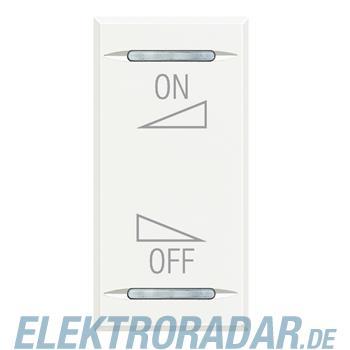 Legrand HD4911AI Wippe für Tastsensoren ON-OFF Regelung White
