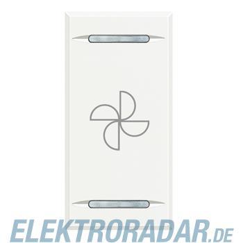 "Legrand HD4911BC ""Symbolwippe für Tastsensor mit 2 Funktionen """"Ven"