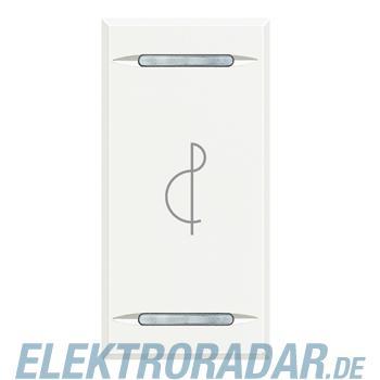 Legrand HD4911BE Wippe für Tastsensoren Musik White